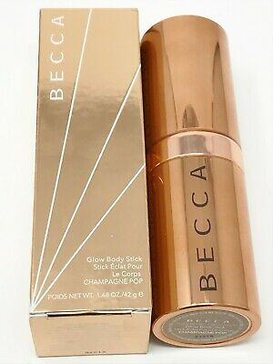 BECCA Glow Body Stick (Collector's Edition) Champagne Pop NEW & BOXED