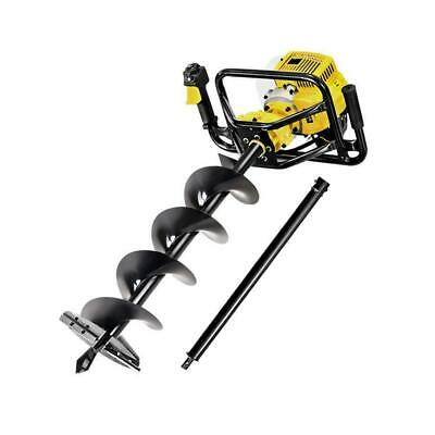 Giantz 92CC Petrol Post Hole Digger Auger Drill Borer Fence Earth Power 200mm, A