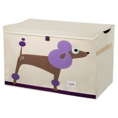 3 Sprouts Toy Storage Chest - Poodle - NEW
