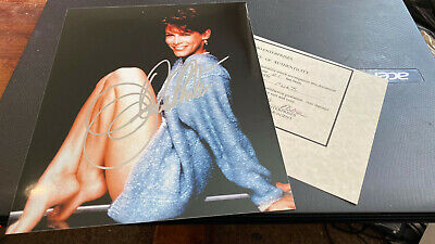 Jamie Lee Curtis--A Fish Called Wanda--10X8-Autographed--Photo--With Coa