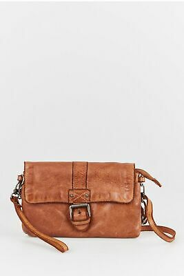 New Colorado Leather Buckle Crossbody Womens Accessories & Others Tan