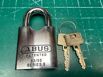 Abus ROCK Padlock w/ ASSA Twin 6000 High Security Core - Locksmith Locksport
