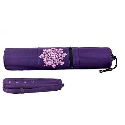 Yoga Mat Carrying Strap Exercise Bag Carry Thick Non Slip Pilates Gym Mesh Pad
