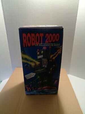 1997 Schylling Robot 2000 The Milennium Robot Original Box Never Used!!