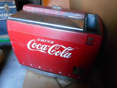 Antique Coke Cooler Chest