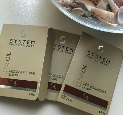 New System Professional Luxe Oil L4 2ml x 3