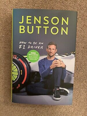 Jenson Button - How To Be An F1 Driver (Hardback), Non Fiction Books, Brand New