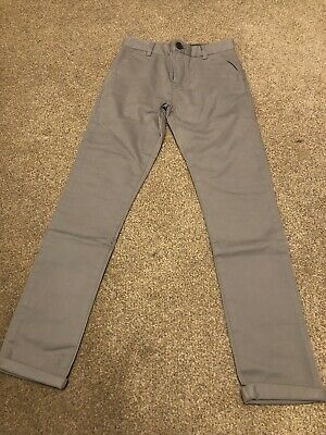 Boys Next Grey Chinos Age 13