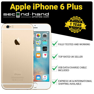 Apple iPhone 6 Plus 16GB Gold (Unlocked/SIM FREE) 12M Warranty Grade A Excellent
