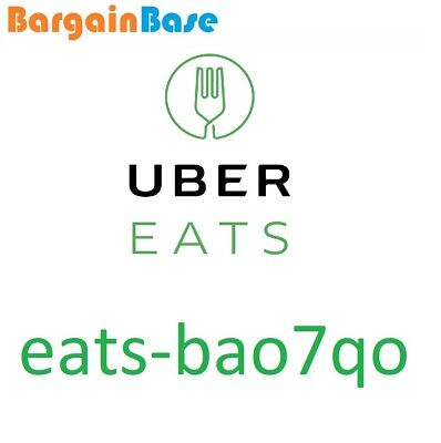 UBER EATS £15 OFF VOUCHER CODE - FIRST ORDER NEW CUSTOMERS FOOD eats-bao7qo