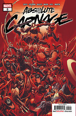 Absolute Carnage #5 A Cover 2019 NEW First Printing Marvel Comics