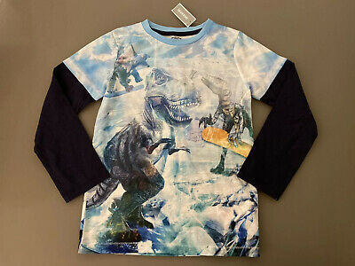 Blue Zoo Boys Dinosaur Long Sleeve Top - Age 9-10 years - Brand New With Tags!!