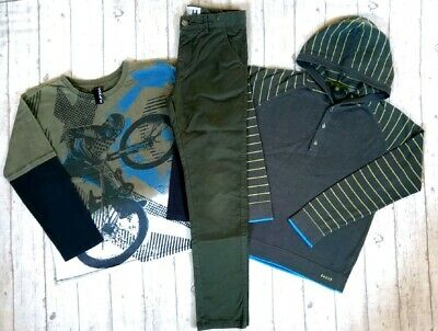 9 10 Years Ted Baker Hoodie Jumper Tops Skinny Chinos Boys Trendy Clothes Bundle