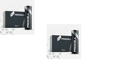 20 X Duracell Procell Aa Batteries Alkaline 1.5V Lr6 Mn1500 Replaces Industrial