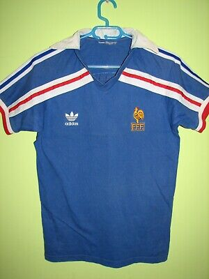 ADIDAS ORIGINALS 1986 France Home Jersey Size L New With