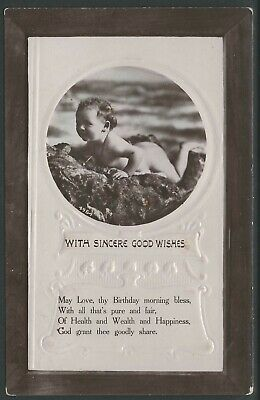Post card, Birthday wishes, Printed in England with Cudal NSW Postmark. 1911