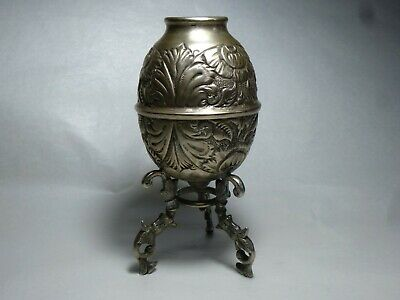 Antique 0900 Silver  Yerba Mate Cup From Argentina