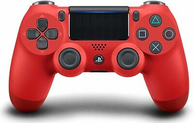 Genuine Sony Playstation 4 PS4 Controller v2 DualShock Magma Red New Sealed