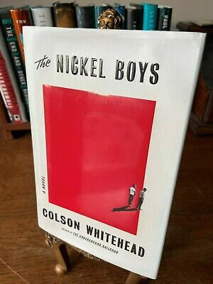 The Nickel Boys by Colson Whitehead (2019, Hardcover)  FIRST EDITION!