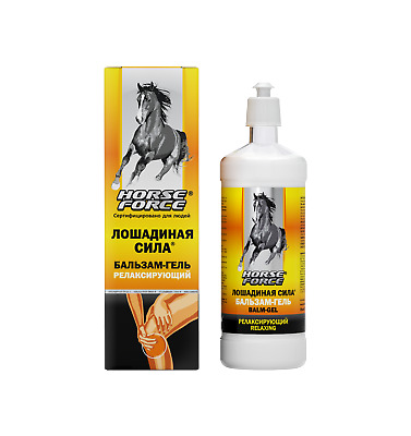 Horse Force balm-gel relaxing for the body 500ml