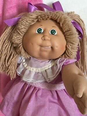 Cabbage Patch Kids Coleco In Her Original Dress & Knickers Little Princess EC
