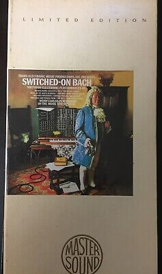 WENDY CARLOS - Switched On Bach - Limited Edition Mastersound 24k Gold CD