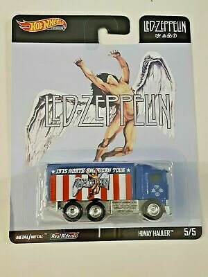 Hot Wheels Pop Culture Led-Zeppelin #5 Hiway Hauler 2020 Brand New