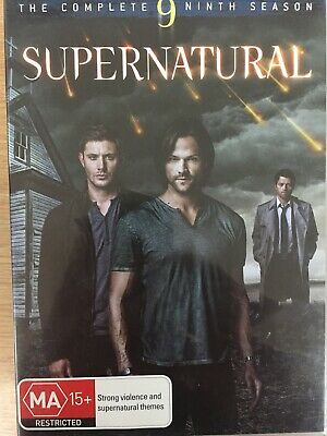 SUPERNATURAL - Season 9 6 x DVD Set Exc Cond! Complete Ninth Series Nine