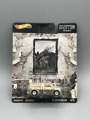 Hot Wheels Pop Culture '67 Austin Mini Van LED-Zeppein 2020 4/5 Brand New