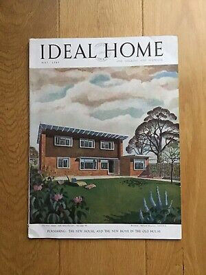 Vintage Ideal Home Magazine. May 1949. Rare Collectors Item