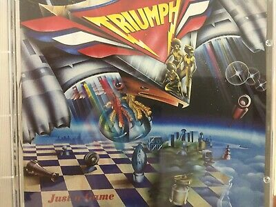TRIUMPH - Just A Game CD 1995 TRC Records Excellent Condition!