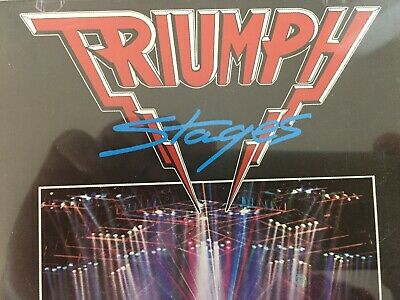 TRIUMPH - Stages CD 1985 TRC Records AS NEW!
