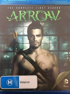 ARROW - Season 1 4 x Disc BLURAY Set AS NEW! Complete First Series One