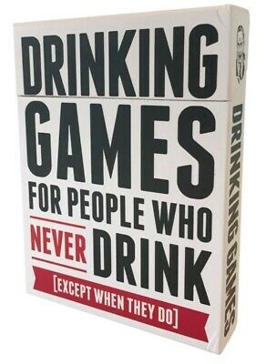 Drinking Games For People Who Never Drink  - Brand New