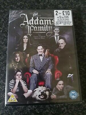 The Addams Family (1991) (DVD) Allegra Kent, Anjelica Huston NEW SEALED 2013
