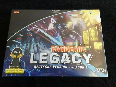 Pandemic Legacy: Season 1 By ZMAN Games Sealed - Excellent Condition - German