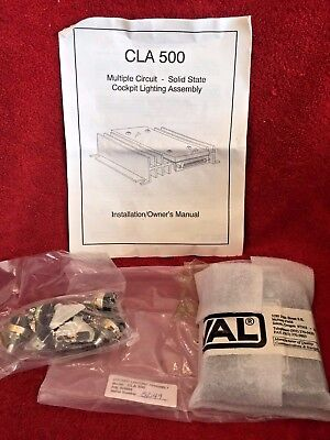 Val Cla 500 Cockpit Lighting Assembly P/N 805000 Multiple Circuit