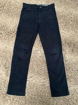 Next Boys Smart Navy Blue Chino Trouser. 5 Years Old