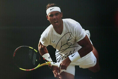 Rafael Nadal- Tennis - signed autographed PHOTO 12X8 WITH COA