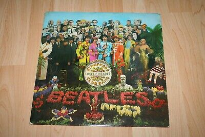 The Beatles Sgt Pepper's Lonely Hearts Club Band 1967 Uk Mono Vinyl Lp + Insert