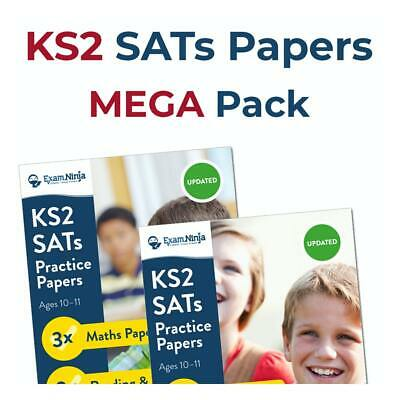 KS2 SATs Papers [PACKS 1 & 2] Year 6 SATs Books Revision | Answers & Audio