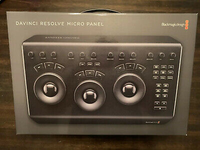 Davinco Resolve Micro Panel NEW Open Box Tested Working