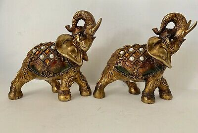 apropos elephant with jewels Set Of 2