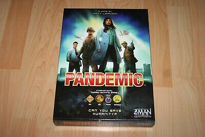 PANDEMIC BOARD GAME (COMPLETE) Z-Man Games