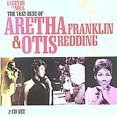 Very Best of Aretha Franklin Otis Redding Legends Soul Queen Greatest Hits 2 cds