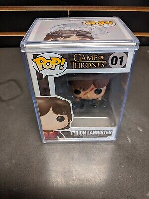 Game of Thrones FUNKO Pop TYRION LANNISTER (Scarred) #01 Popcultcha Exclusive