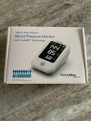 Welch Allyn Home Blood Pressure Monitor Medical Heart Bpm Health White