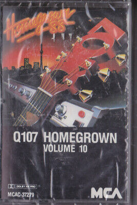 Q107 Homegrown (Volume 10) Cassette (New And Sealed)