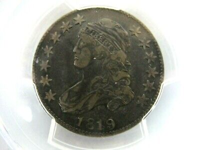 ***PCGS VF30*** 1819 Capped Bust Quarter ***SMALL 9***
