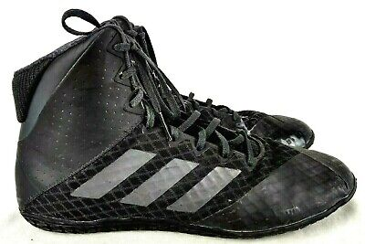 Adidas Mat Wizard 4 Black Boxing Boots Sparring Training AC6971 Footwear Shoes